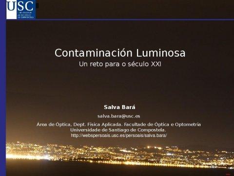 Contaminación luminosa. Un reto para o século XXI - A nova configuración xurídica do urbanismo e do patrimonio cultural en Galicia
